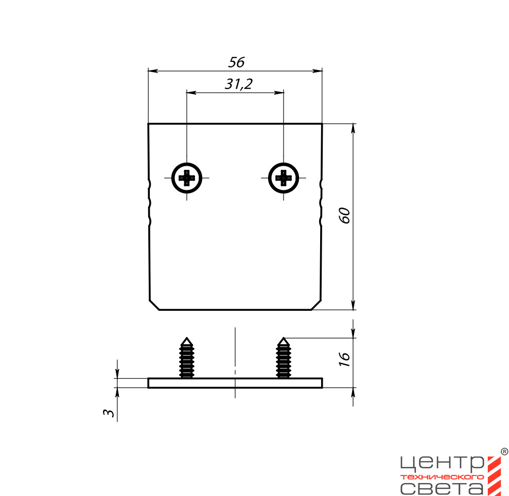 HALLA LIGHTING УГЛОВОЙ LDL-L-54ELT-328 v.2
